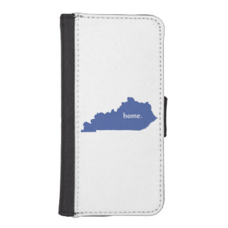 Kentucky home silhouette state map iPhone SE/5/5s wallet