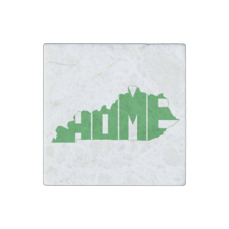 Kentucky Home State Stone Magnet