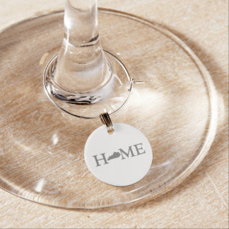Kentucky Home State Wine Charms