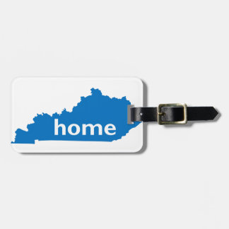 Kentucky Home Tag For Bags