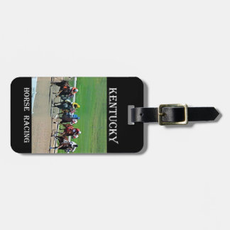 Kentucky Horse Racing Tag For Bags