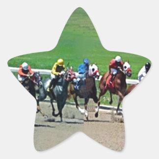 Kentucky Horse Racing Star Sticker
