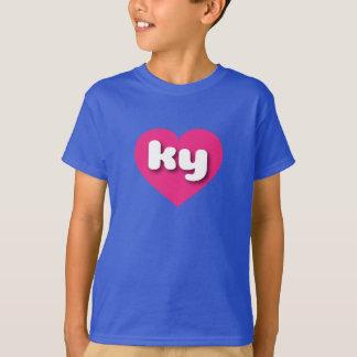 kentucky hot pink heart - mini love T-Shirt