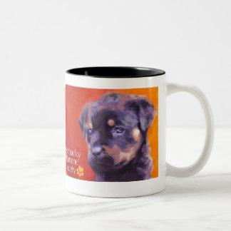 Kentucky Humane Society Two-Tone Coffee Mug