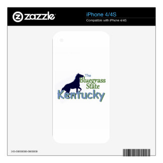 KENTUCKY iPhone 4 SKINS