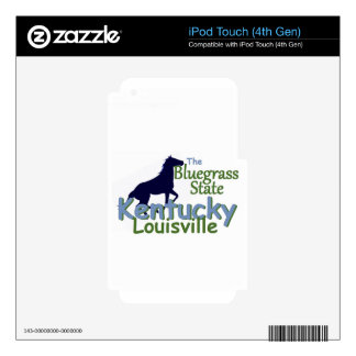 KENTUCKY iPod TOUCH 4G DECAL