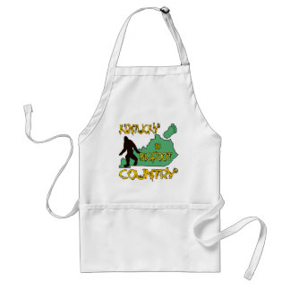 Kentucky Is Bigfoot Country Adult Apron