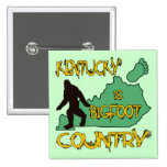Kentucky Is Bigfoot Country Buttons