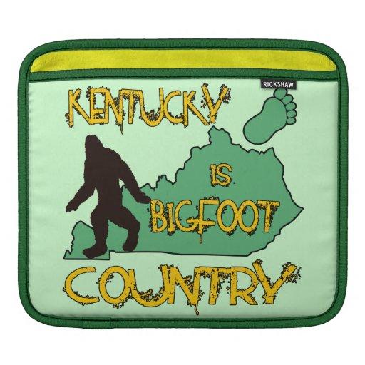 Kentucky Is Bigfoot Country Sleeve For iPads