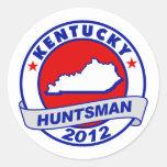 Kentucky Jon Huntsman Classic Round Sticker
