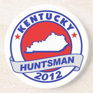 Kentucky Jon Huntsman Beverage Coasters