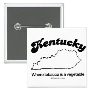 """KENTUCKY - """"KENTUCKY STATE MOTTO"""" T-shirts and Gea 2 Inch Square Button"""
