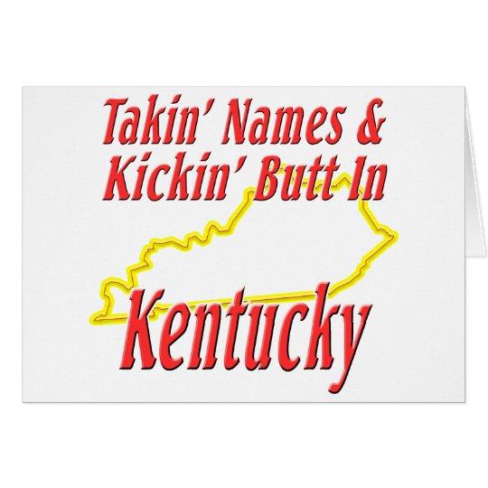 Kentucky - Kickin' Butt Card