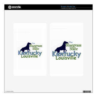 KENTUCKY KINDLE FIRE DECALS