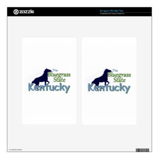 KENTUCKY KINDLE FIRE SKINS