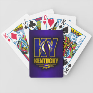 Kentucky (KY) Bicycle Playing Cards