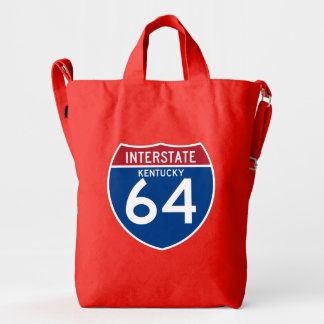 Kentucky KY I-64 Interstate Highway Shield - Duck Bag