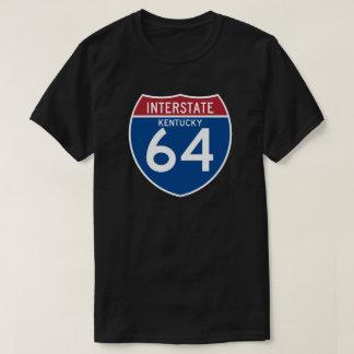 Kentucky KY I-64 Interstate Highway Shield - T-Shirt