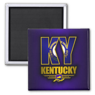 Kentucky (KY) 2 Inch Square Magnet