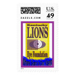 Kentucky Lions Eye Foundation Postage Stamp