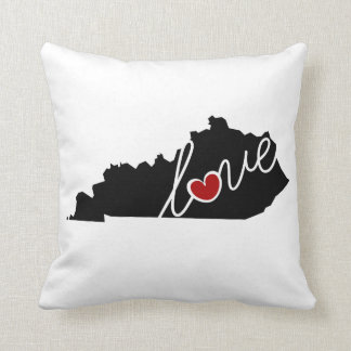 Kentucky Love!  Gifts for KY Lovers Pillows