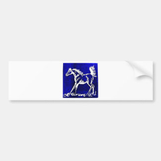 Kentucky Loves Horses! Bumper Sticker