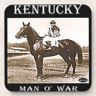 Kentucky Man O' War Beverage Coaster
