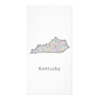 Kentucky map card