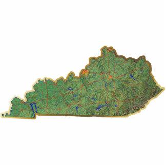 Kentucky Map Magnet Cut Out