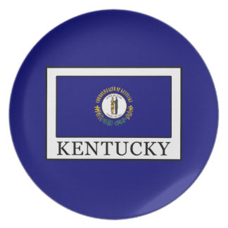 Kentucky Melamine Plate