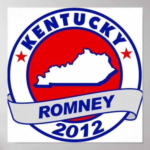Kentucky Mitt Romney Póster