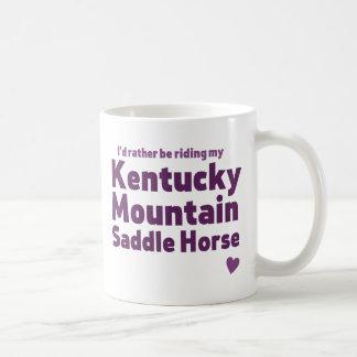 Kentucky Mountain Saddle Horse Coffee Mug