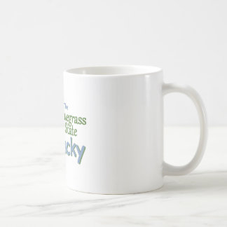 KENTUCKY CLASSIC WHITE COFFEE MUG