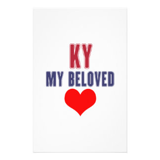 Kentucky  my beloved stationery