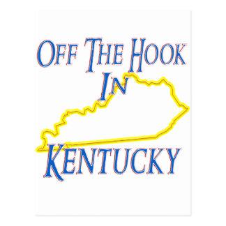 Kentucky - Off The Hook Postcard