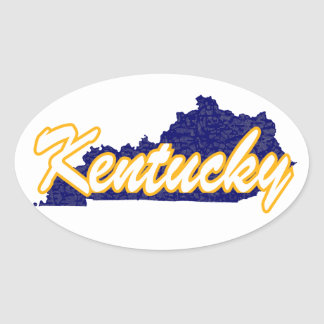 Kentucky Oval Sticker