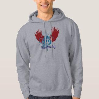 Kentucky Peace Sign Hooded Sweatshirt