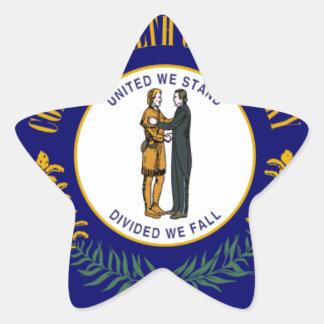 Kentucky Pegatina En Forma De Estrella
