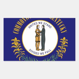 Kentucky Pegatina Rectangular