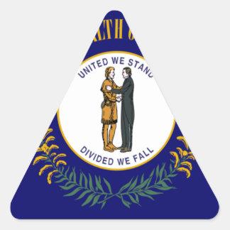 Kentucky Pegatina Triangular