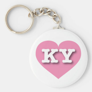 Kentucky Pink Heart - Big Love Keychain