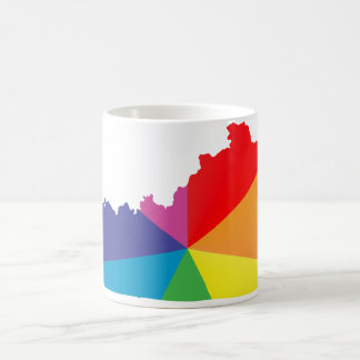 kentucky pride. angled. coffee mug
