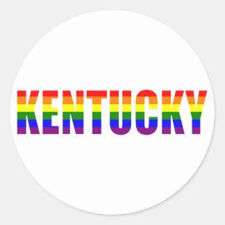 Kentucky Pride Classic Round Sticker