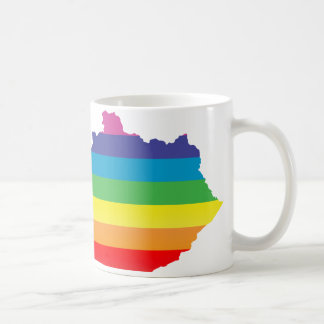 kentucky pride. striped. coffee mug