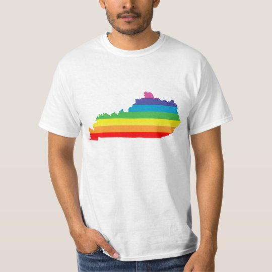 kentucky pride. striped. T-Shirt