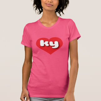 kentucky red heart - mini love T-Shirt