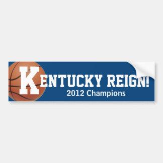 Kentucky Reign! - Basketball Car Bumper Sticker