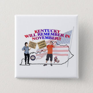 Kentucky - Return Congress to the People! Button