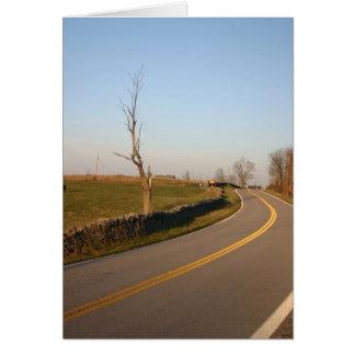 Kentucky road card