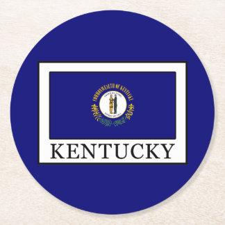 Kentucky Round Paper Coaster